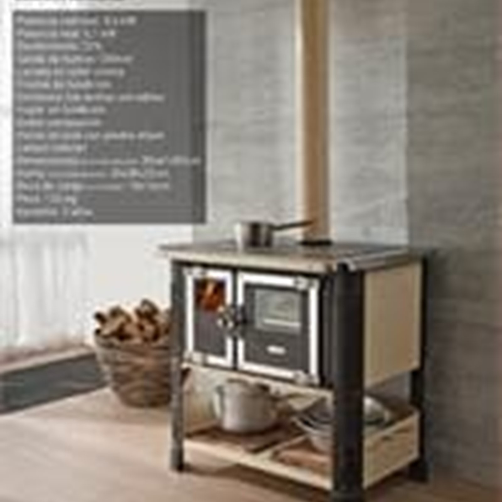 Cocinas de le a for Planos de cocina economica a lena